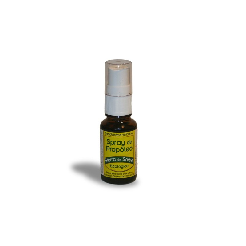 """Spray de propóleo ecológico """"Sierra del Sorbe"""" 15 ml"""