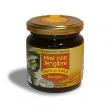 Miel con Jengibre ecológico 250 gr