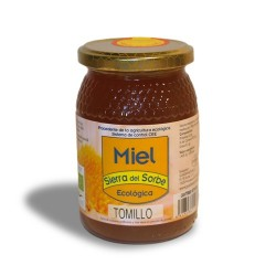 Miel ecológica de Tomillo 500 gr