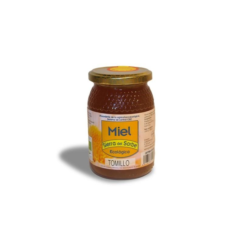 """Miel ecológica de Tomillo """"Sierra del Sorbe"""" 500 gr."""