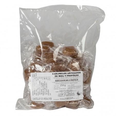 Caramelos de miel y propoleo, 250 gr