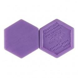 Jabón hexagonal Miel y Lavanda, 100 gr