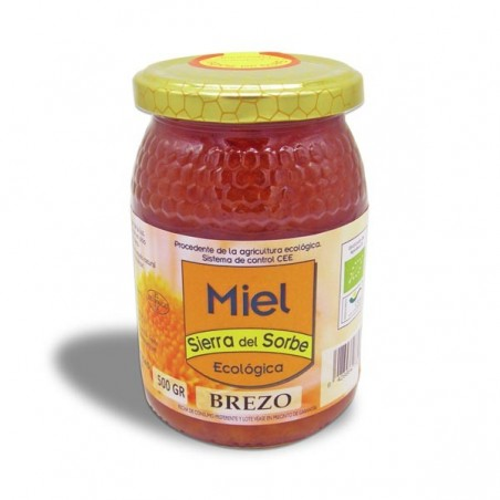 Miel Ecológica de Brezo 500 gr