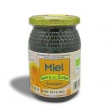 """Miel ecológica Multifloral """"Sierra del Sorbe"""" 500 gr"""