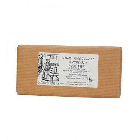 Chocolate con miel 125 gr